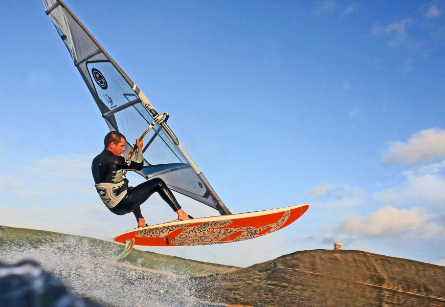 Watersports Photography, Windsurfing and Sailing Photography