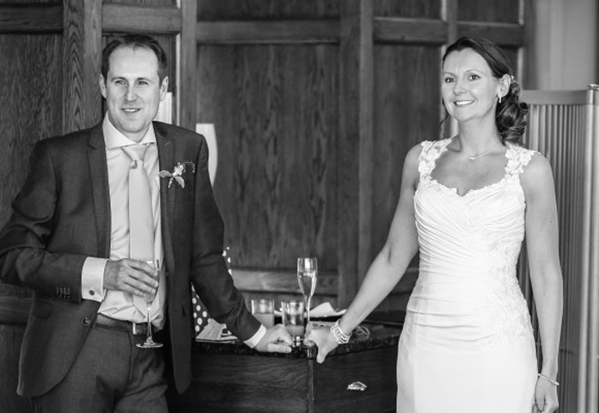 New(ish) approach to wedding shoots